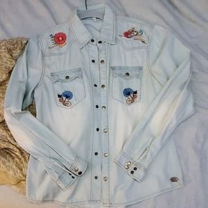 Spell Route 66 Chambray Shirt